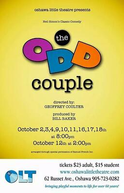 The Odd Couple Oshawa Little Theatre