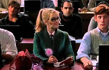 still image from the movie Legally Blonde