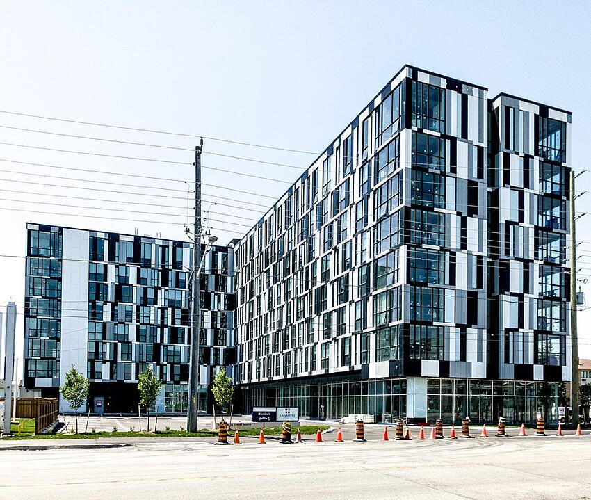 University Studios building in Oshawa