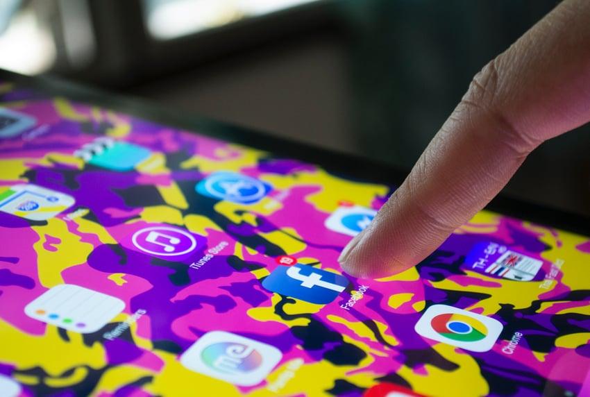 finger pressing phone app