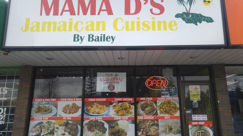 Mama D's Storefront