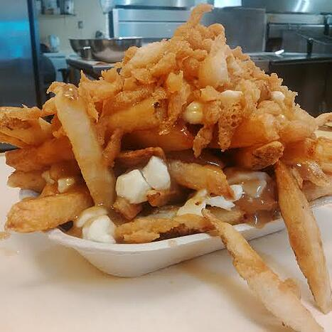 PBs Fish and Chips poutine