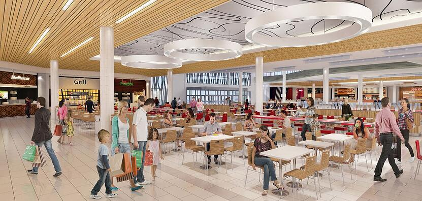 Oshawa Centre food court